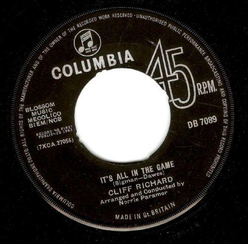 Cliff Richard - Hey Mr. Dream Maker